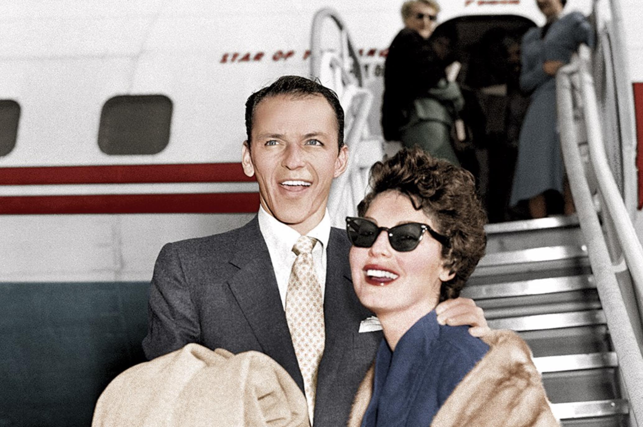 Sinatra and Hepburn